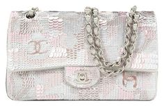 Chanel Sequin Embroidered Satin Flap New Shoulder Bag. Get one of the hottest styles of the season! The Chanel Sequin Embroidered Satin Flap New Shoulder Bag is a top 10 member favorite on Tradesy. Save on yours before they're sold out!