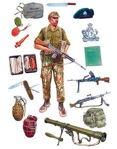 """Infantryman, Operation Cauldron, Rhodesia 1968"""
