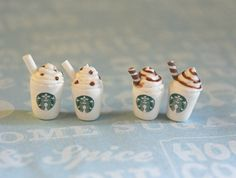 starbucks stud earrings! I have never wanted earrings this badly in my life. Where can I find these amazing things?!?!?!