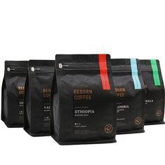 Coffee Packaging, Coffee Branding, Bag Packaging, Decaf Coffee, Coffee Set, Radio Coffee, Coffee Business, Premium Coffee, Coffee Photography