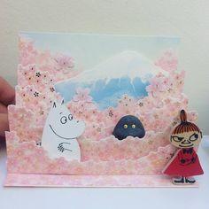 Moomin card.