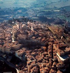 The city of Volterra in Tuscany...and yes, for all of you Twilight fans it is THE city of the Volturri. Although for the movie those scenes were filmed in Montepulciano, Italy.