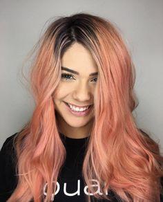 Heißesten Blorange Haarfarbe