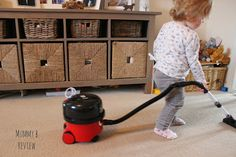 Mummy B: Little Henry Children's Toy Vacuum Cleaner