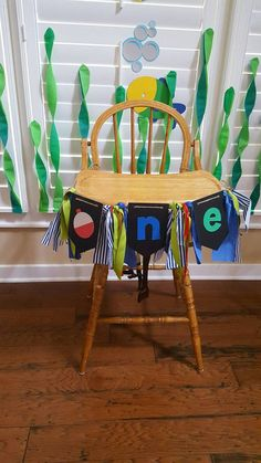 Fishing first birthday banner by SunshineandClovers on Etsy