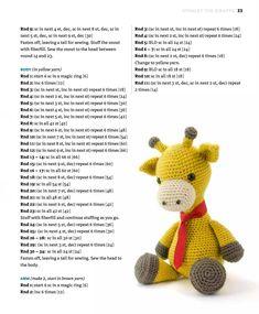 Amigurumi Little Bear Free Crochet Pattern – Amigurumi Crochet Crochet Giraffe Pattern, Crochet Bear, Crochet Patterns Amigurumi, Cute Crochet, Crochet Animals, Crochet Dolls, Stuffed Animal Patterns, Crochet Designs, Crochet Projects