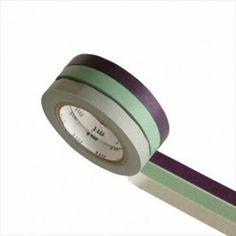 MT masking tape 3 pack slim frozen