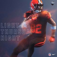 4762d3bf6 2016 Nike Color Rush uniform Gary Barnidge  82 TE Cleveland Browns Nfl Color  Rush Uniforms