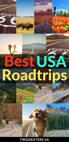 Planning a road trip in the United States? Check out this ultimate list of USA road trips to inspire your adventures. #USA #USATravel #RoadTrip #RoadTripUSA | Road trips in USA | Road trips in the US | American road trip | Classic road trip | Road tripping #Roadtrips #Vacation
