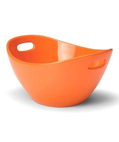 Look at this #zulilyfind! Rachael Ray Orange Serving Bowl by Rachael Ray #zulilyfinds