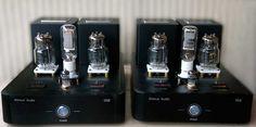 33SE Tube Power Amplifier 33SE-6C33C-Front