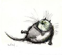 Ronald Searle's Cats, 1967 by laura@popdesign, via Flickr