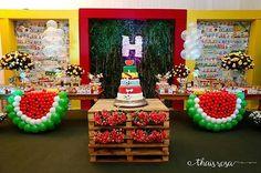 Cenário principal da desta da Helena (nossa Magali) rsrsrs  #festamagali…