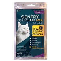 ФИПРОГАРД МАКС (FiproGuard MAX) капли от блох, клещей и вшей для кошек c 12 недель