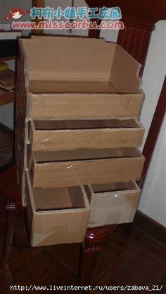 kastje maken van dozen