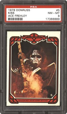 Gene Simmons 1978 Trading Cards | Non-Sports Cards - 1978 Donruss Kiss | PSA CardFacts™