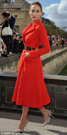 Leelee Sobieski in Christian Dior haute couture