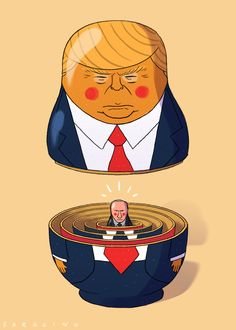 trump illustration | Tumblr