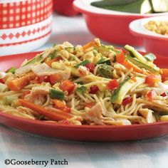 Gooseberry Patch Recipes: Asian Summer Salad from 101 Soups, Salads & Sandwiches Cookbook