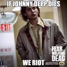 He does resemble  a young version of Johnny Depp