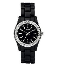 DKNY Essentials Rhinestone-Accent Watch | Dillards.com