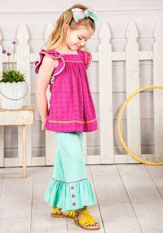 Freeze Dance Big Ruffles - Matilda Jane Clothing