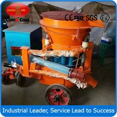 chinacoal03 Building Gunite Machine  construction shotcrete machine   ,   concrete gunite machine ,  concrete sprayer  Usage  Building gunite machine is widely used in construction engineering and construction, mining, tunnel, culvert, subway, hydropower engineering, underground engineering and high marsh coal mine tunnel shotcrete construction operations, various types of industrial furnaces, molding or spraying refractory lining repair and  various green slope, soil transport and…