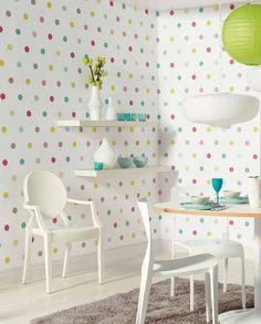 Oralia | Papel de parede infantil | Padrões de papel de parede | Papel de parede dos anos 70