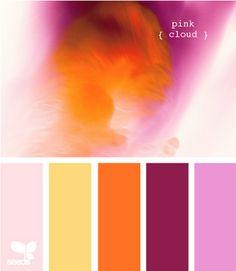 Bela maneira de demonstrar uma paleta de cores. obrigada.