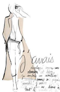 garance dore illustration | to stumble upon this blog by French fashion illustrator, Garance Doré ...