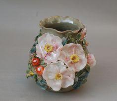 Porcelain Garden Of Eden: Bohemian Vases By Mila Arkhipova | Bored Panda