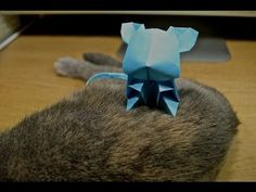 Jacky Chan Origami Mouse