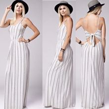 Naomi Striped Maxi Dress