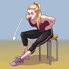 8 Exercises to Clear Up Lymph Congestion and Body Ache If You Sit All Day Sciatic Nerve, Sciatica, Carpal Tunnel Syndrome, Sedentary Lifestyle, Lymphatic System, Stretching Exercises, Neck Pain, Easy Workouts, Cellulite