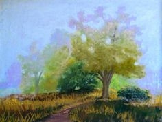 Pastel Lessons by Lewis Isaac Testa: NEXT STAGE OF LANDSCAPE