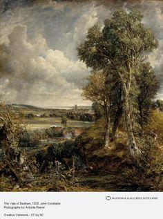 John Constable The Vale of Dedham (1828)