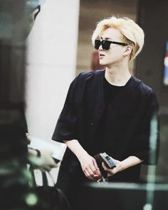 "Exo - Suho ""The blonde"""
