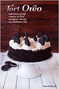 Oreo layer cake #oreo #cake http://ilovebake.pl/2015/03/03/tort-oreo-przepis/