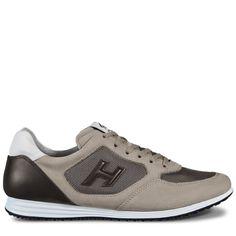 Chaussures baskets sneakers homme en cuir h254 t2015 h 3d Hogan q3KqW0AR4