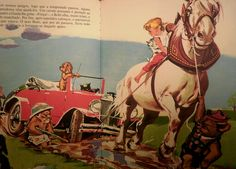 "Caroline et Son Automobile / Pierre Probst's ""Caroline"" Series."
