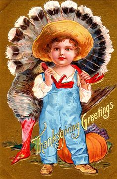 Thanksgiving Holiday Postcard 1908 NASH Series No 1 Child Dead Turkey 114 Thanksgiving Blessings, Thanksgiving Greetings, Vintage Thanksgiving, Thanksgiving Parties, Vintage Fall, Vintage Holiday, Thanksgiving Decorations, Vintage Halloween, Fall Halloween