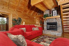 Pigeon Forge Tennessee Cabin Rental-#Vacation #rental Smoky Mountains Sleeps up to 22 people
