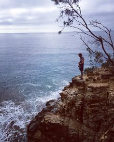 Was a good spot for the morning coffee  #longweekend #adventure #1770 #queensland #greatbarrierreef #positivemind #positivevibes #peace #serenity #goodvibes #cliff #waves #surf #climbing #ocean #landscape #ontheedge #iphonephotography #tree #clouds #morning #discoverqueensland #coffee #sunday by _phatchance_ http://ift.tt/1UokkV2