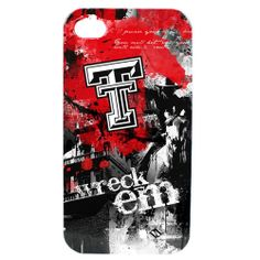 Texas Tech University Red Raiders - Paulson Designs Spirit Case for iPhone® 4/4S