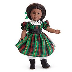 American Girl® Clothing: Addy's Christmas Dress