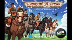 new #kickstarter project #crowdfunding Sorghum & Spear - Book One by Greene County Creative
