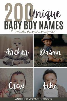 Unique Boys Names List, Boys Names Rare, L Names, Rare Baby Names, Latino Boy Names, Best Boy Names, Meaningful Boy Names, Baby Boy Name List, Unique Baby Boy Names