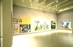 Carnegie International Exhibition 1985 at Carnegie Museum of Art Pittsburgh: installation view