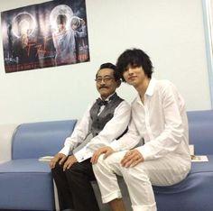 "Kento Yamazaki, BTS photo, J drama series ""Death Note"",  [Ep. w/Eng. sub] http://www.dramatv.tv/search.html?keyword=Death+Note+%28Japanese+Drama%29"
