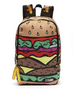 Another great find on #zulily! Hamburger Backpack #zulilyfinds